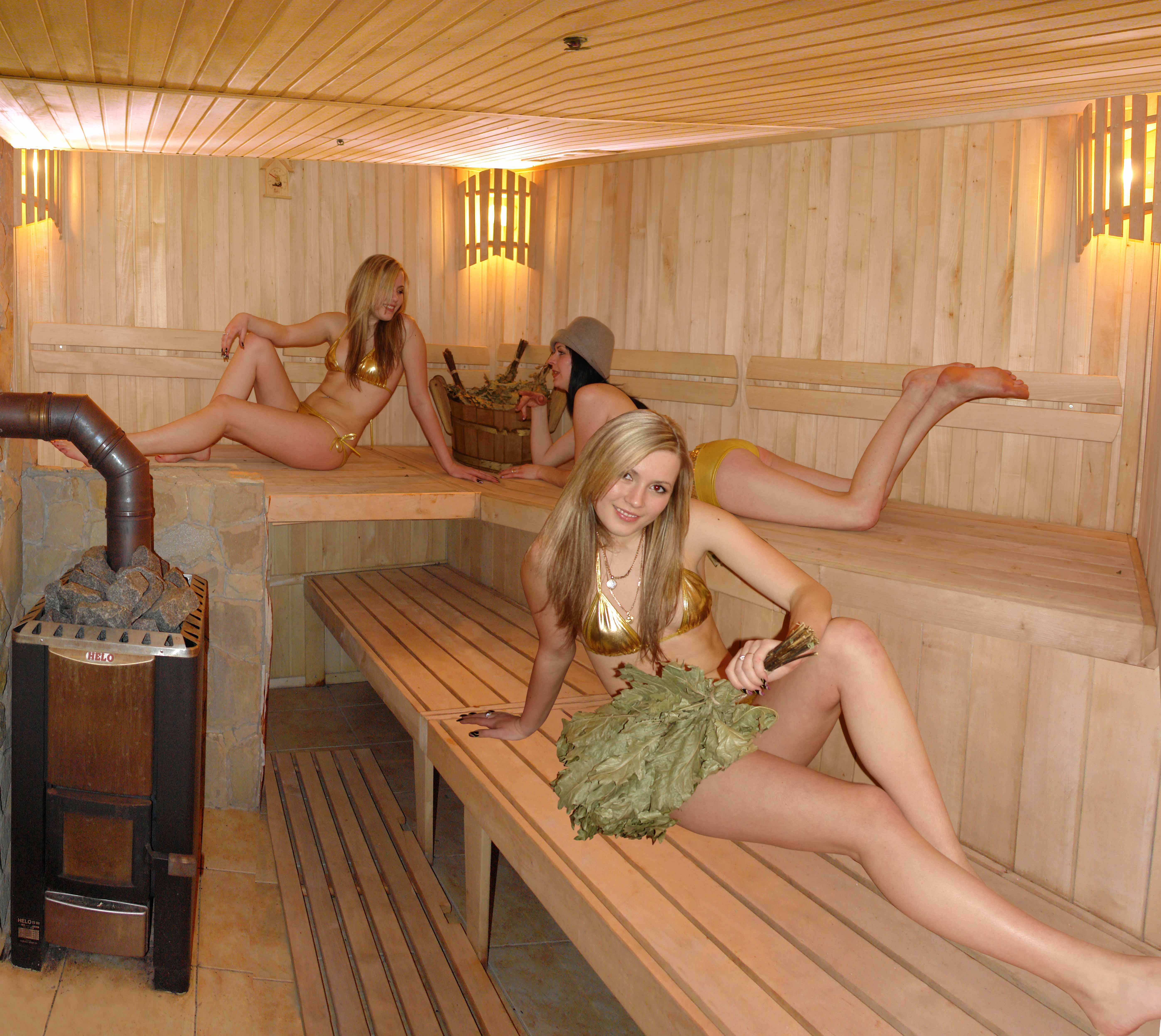 Русская девушка в бане 14 фотография