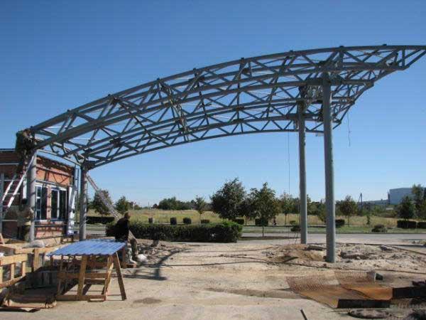 Металлоконструкции в Донецке: изготовление и монтаж