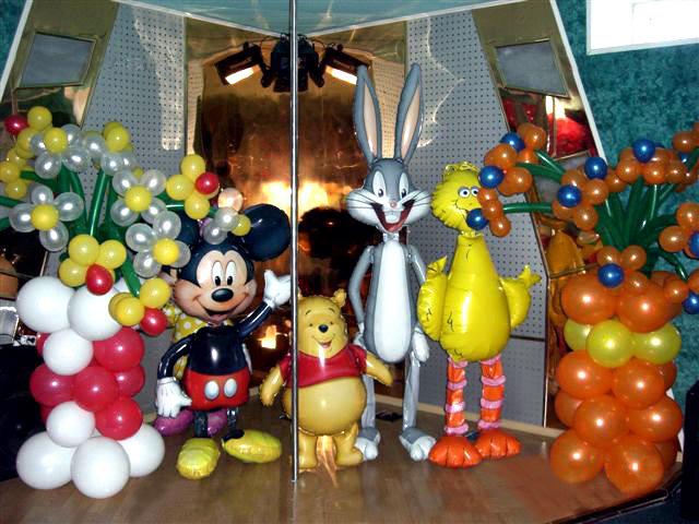 Детские праздники...  Оформление детских праздников воздушными шарами.