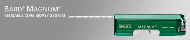 Инструменты для биопсии BARD® для диагностики онкологических заболеваний.